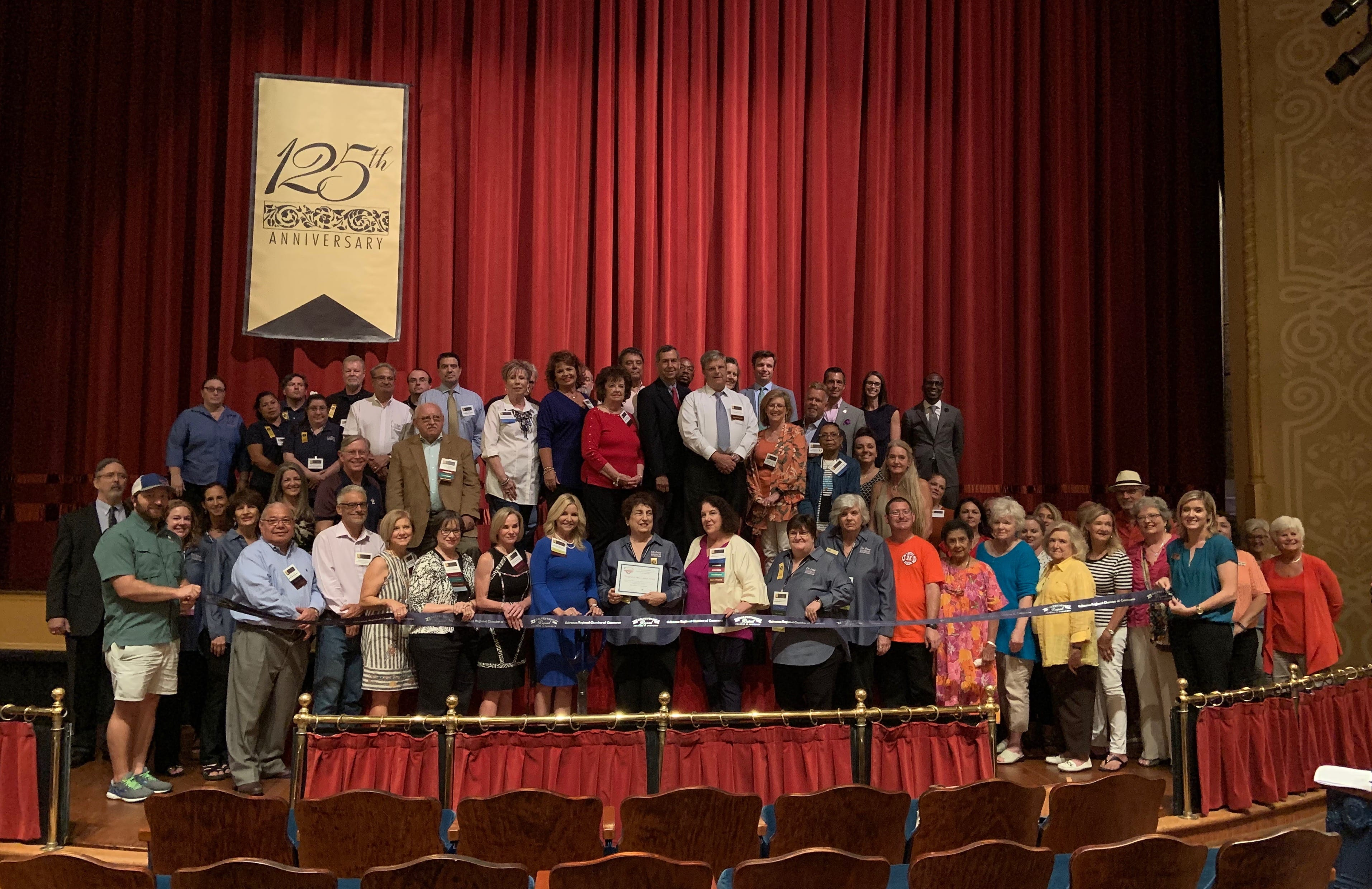ribbon cutting of the grand 1894 opera House's 125th anniversary